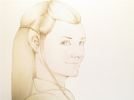 Tauriel, Daughter of the Forest by AlwinaGreenPeach