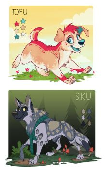 Tofu and Siku by doingwell