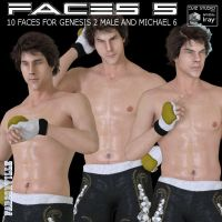 G2M/M6 Faces 5, by Farconville by FantasiesRealmMarket