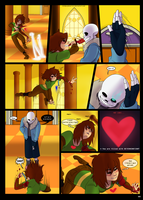 Under-Upper AU: Ch6 Page 11 by MichPajamaArtist