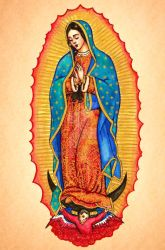The Virgin of Guadalupe by Theophilia