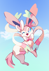 Sylveon (by Yusiso) by Angel47093