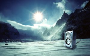 Icy Speaker by boding-bunny