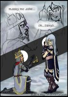 Ashe and Trnd Moment by AnimatorWil