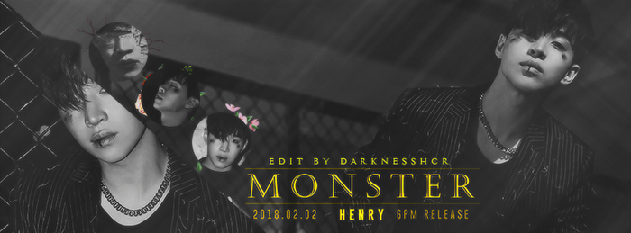 henry lau monster [simple fb cover] by darknesshcr