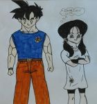 Gohan Goes To High School by JQroxks21