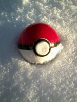 Pokeball In The Snow by Rainbowveins4
