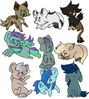 Chibi guardians  by LoveAwesomeHeart