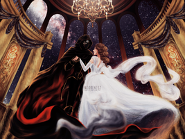 Reylo Beauty and the Beast AU by haloren1st