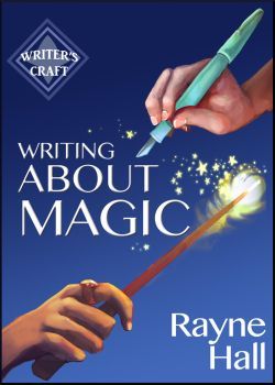 Writing About Magic - Book Cover by RayneHall