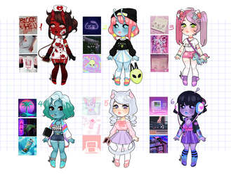 Aesthetic Adopts: Last one for $15! CUSTOMS OPEN by MaryLittleRose
