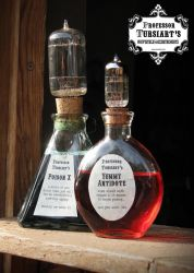 Apothecary Bottles by tursiart