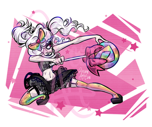 vera gonna fight by TheArcaneArts