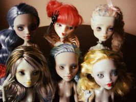 New doll batch by hellohappycrafts