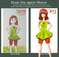 Meme : Before and After by AwesomeHikari