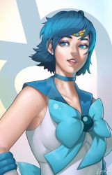 Sailor Mercury - Fan Art! by EnaidPI