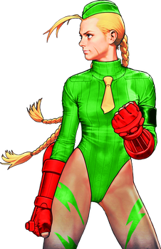 Street Fighter Killer Bee Cammy Color 2 by WhiteAngel50000