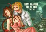 Rufus and Aerith: Mako Vampire by Jeff-Mahadi