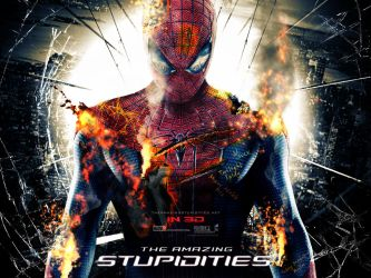 If Movie Posters Were Honest - Amazing Spider-Man by childlogiclabs