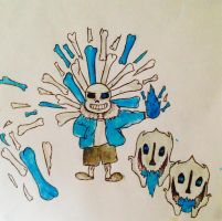 Sans!! by briethebee