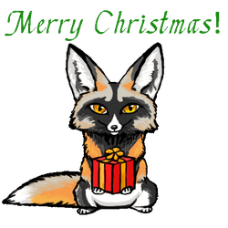 Merry Christmas! by silvercrossfox