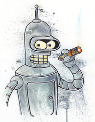 Bender by LukeFielding