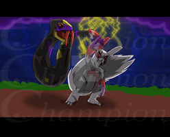 Pokemon- Seviper VS Zangoose
