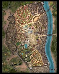 Katalal Map by JeffDee