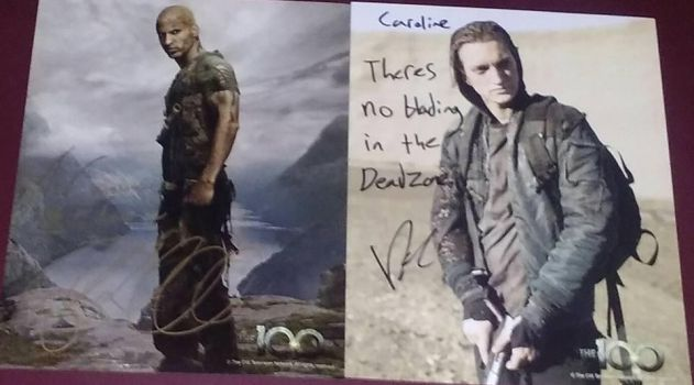 Supanova RW and RH autographs Perth 2017 by carrie-lou