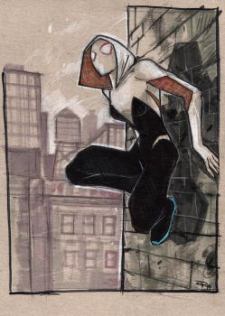 Spider Gwen by DenisM79