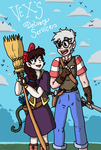 Vex's Delivery Service by SaintsSister47
