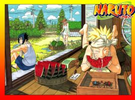 Naruto 548 Cover by johnny182ee