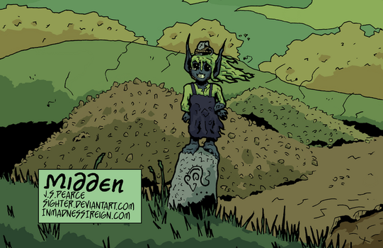 Midden (inktober, colored) by Sighter