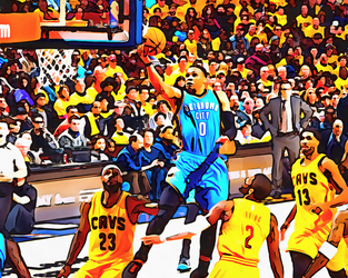 Russel Westbrook by NBA-Scholar