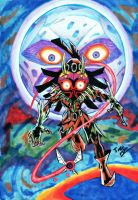 Skull Kid illustration by Twinkie5000