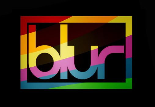 Rainbow Blur logo by tripus