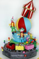 Circus Cake by Verusca