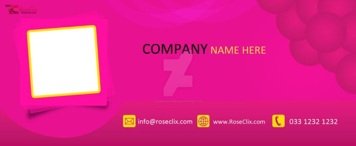 Fb Cover Template 10 by ROSEWALLPAPERS
