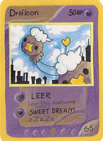 Drifloon card by griffsnuff