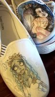 SHOES - WIP - Corpse Bride by yurchan