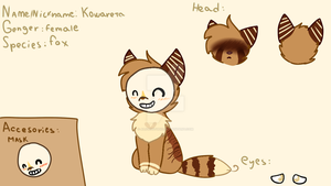 Kawareta ref by alicesstudio