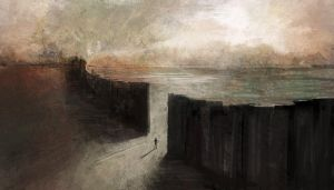The Black Wall by eilidh