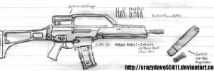 HK G36K by CrazyDave55811