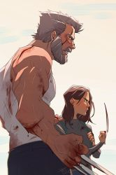 Logan and laura by Mauw-than-one