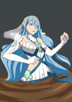 Commission: Azura quicksand by Forgelord91