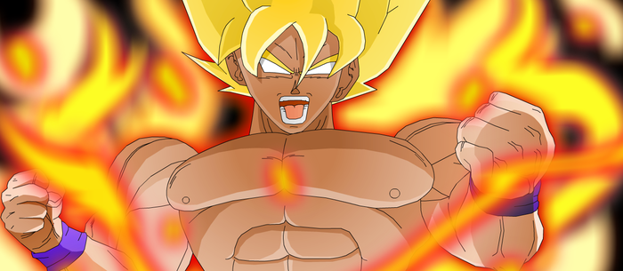 The power of Goku by eggmanrules
