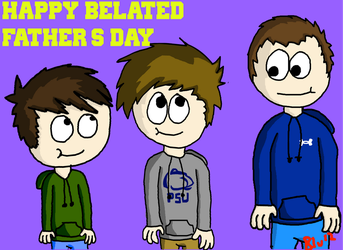 Happy (Late) Father's Day! by blugoon