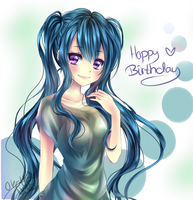 [Gift/NealaYiskah] Happy Birthday Fuyu! *^* by OkotteNeko