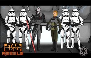 Star Wars Rebels Empire by momarkey