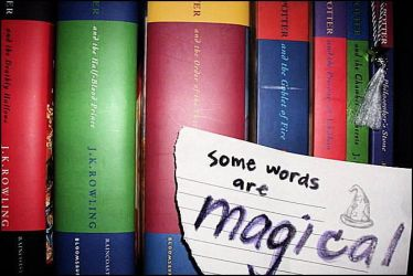 Some words are Magical by poetic--wings
